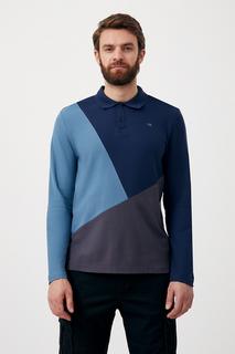мужской лонгслив в стиле color block из хлопка Finn Flare