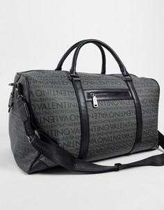 Серая спортивная сумка Valentino Bags Futon-Серый