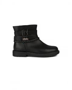 Кожаные ботинки Geox цв. черный 30