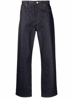 A.P.C. широкие джинсы средней посадки
