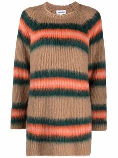 Kenzo bright stripe print knitted dress