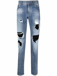 Dolce & Gabbana джинсы скинни с логотипом