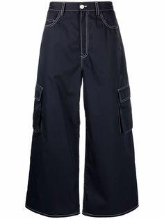 Sunnei широкие джинсы с карманами карго