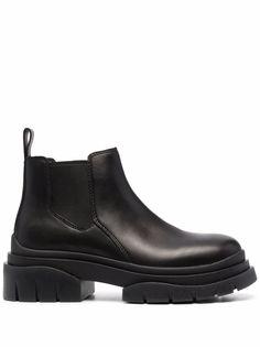ASH ботинки на массивной подошве