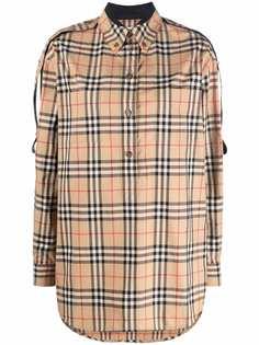 Burberry рубашка в клетку Vintage Check