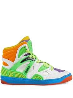 Gucci высокие кроссовки Gucci Basket