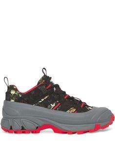 Burberry кроссовки Arthur с цветочным принтом