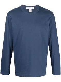 Comme Des Garçons Shirt футболка с длинными рукавами и круглым вырезом
