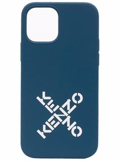 Kenzo чехол для iPhone 12/12 Pro с логотипом