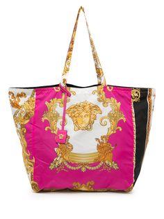 Versace сумка-тоут с принтом Barocco