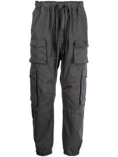 izzue зауженные брюки карго