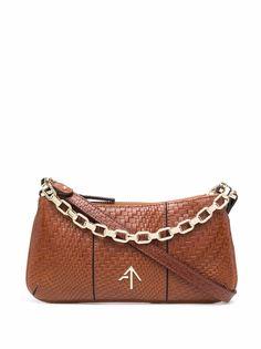 Manu Atelier плетеная сумка на плечо