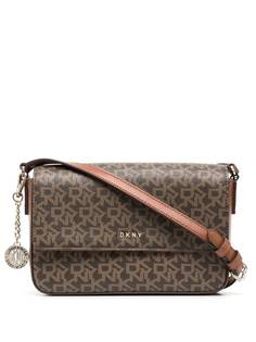 DKNY сумка через плечо с монограммой