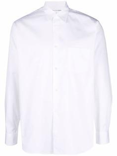 Comme Des Garçons поплиновая рубашка на пуговицах