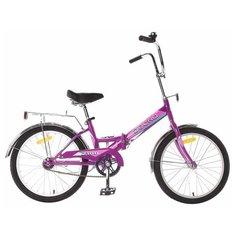 Городской велосипед Десна 2100 20 13 лиловый (требует финальной сборки) Desna