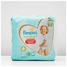 Pampers Подгузники-трусики PAMPERS Premium Care Large (15+ кг), 31 шт
