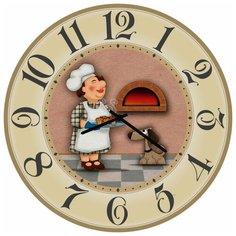 SvS Настенные часы SvS 4002684 Повар у печи СВС