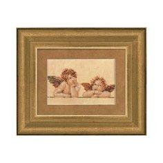 Набор для вышивания LANARTE №004 PN-0007969 (34394) Два ангелочка 15х10 см 1 шт.