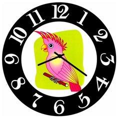 SvS Настенные часы SvS 3502631 Попугай СВС