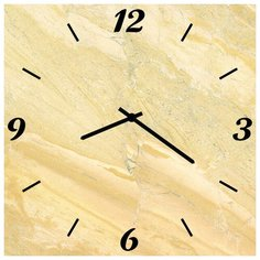 SvS Настенные часы SvS 3502872 Бежевый рисунок СВС