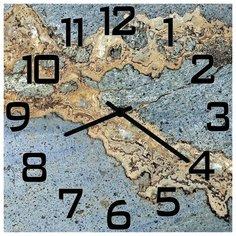 SvS Настенные часы SvS 3502860 Рельефный рисунок СВС