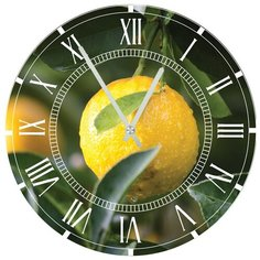 SvS Настенные часы SvS 3001280 Kitchen Лимон СВС