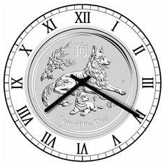 SvS Настенные часы SvS 3001328 Символика Год собаки СВС
