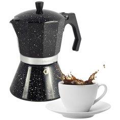 Кофеварка гейзерная 300 мл Ofenbach NB101105 (6 порций) с широким индукционным дном