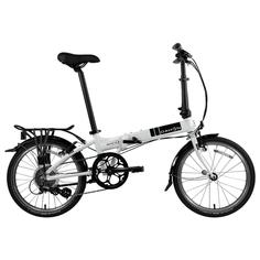 Велосипед DAHON Mariner D8, Brushed. Крылья, багажник с резинкой, подножка, насос в подс. штыре, Lan