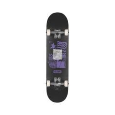 Скейтборд GLOBE G1 FAIRWEATHER Black/Purple SS21