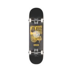 Скейтборд GLOBE G1 FAIRWEATHER Black/Yellow SS21