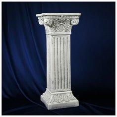 """Хорошие сувениры Колонна """"Античная"""", серый камень 65х27см"""