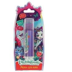 Косметика для девочек Милая леди энчентималс мелки для волос, фиолетовый, блистер