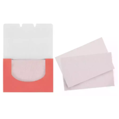 Limoni Матирующие салфетки для лица Matte Blotting Papers 80 шт. pink