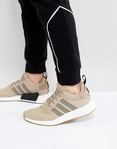 Бежевые кроссовки adidas Originals NMD R2 BY9916-Neutral