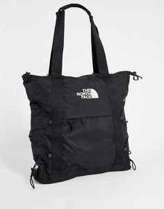 Черная сумка-тоут The North Face Borealis-Черный цвет