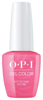 Лак для ногтей OPI Classic GelColor Hotter Than You Pink 15 мл