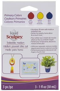 Декоративный гель Sculpey Liquid Sculpey Multipack ALS 90 мл Primary ALS-PRI1