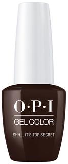 Гель-лак для ногтей OPI Classic GelColor Shh...Its Top Secret 15 мл