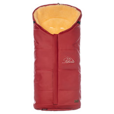 Конверт зимний меховой Nuovita Siberia Lux Pesco Rosso, Красный