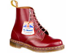 Ботинки мужские Dr. Martens 45041 красные 47 RU