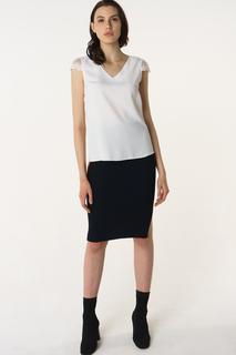 Блуза женская adL 11529625002 белая 42 RU