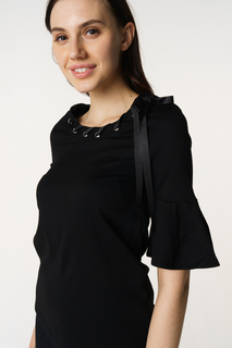 Блуза женская adL 11533232000 черная 40 RU