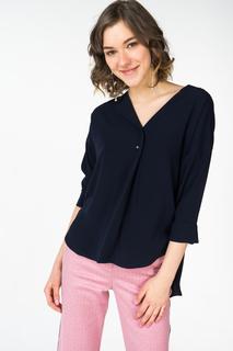 Блуза женская adL 11528050005 синяя 44 RU