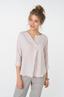 Блуза женская adL 11528050005 бежевая 40 RU