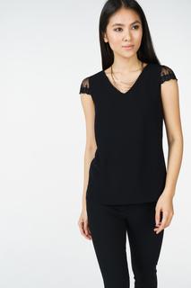 Блуза женская adL 11529625002 черная 40 RU