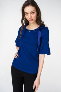 Блуза женская adL 11533232000 синяя 42 RU