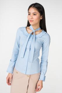 Блуза женская adL 13031887000 голубая 42 RU