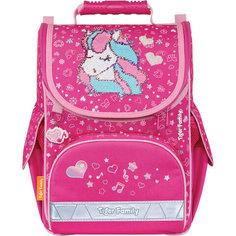 Ранец TIGER FAMILY для нач. школы, Nature Quest, Musical Pony (Pink), 35х31х19 см, 270208