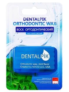 Воск для брекетов Dentalpik Orthodontic Wax Mint, мятный, прозрачный